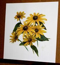 Paula's Garden Blackeyed Susans by Paula Vaughan Floral Botanical