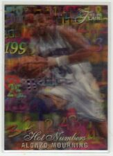 1995-96 Flair Hot Numbers (8 of 15) Alonzo Mourning