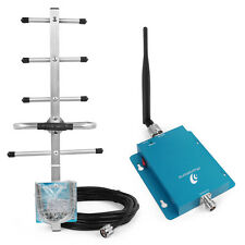 850MHz 2G AT&T Verizon 3G Cell Phone Signal Repeater Booster Amplifier +Antennas