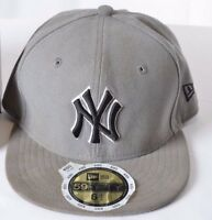 NEW YORK YANKEES NFL NEW ERA 59FIFTY OFFICIAL FITTED HAT CAP 6 1/2 KIDS
