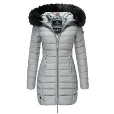 Marikoo Damen Winter Jacke Stepp mantel Winter parka Steppjacke langejacke Kapuz