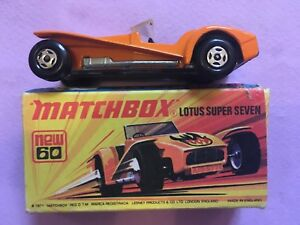 Matchbox 60 Diecast Lotus Super Seven (Boxed)