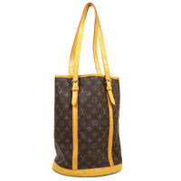 LOUIS VUITTON BUCKET GM SHOULDER TOTE BAG FL0010 PURSE MONOGRAM M42236 NR15767