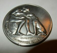 More details for wire-haired terrier club,  silver  german high quality  1934  named  4 mm diam