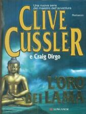 L' ORO DEI LAMA PRIMA EDIZIONE CUSSLER CLIVE LONGANESI 2007 LA GAJA SCIENZA
