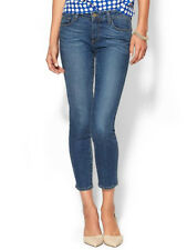 NWT PAIGE PREMIUM DENIM Verdugo Crop Mid-Rise Skinny Jeans Size 28 Eunice Wash