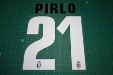 Juventus 12/13 #21 PIRLO Homekit Nameset Printing