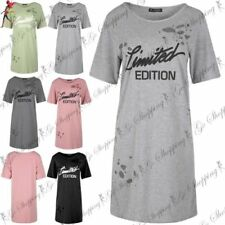 Polyester Round Neck Dresses T-Shirts