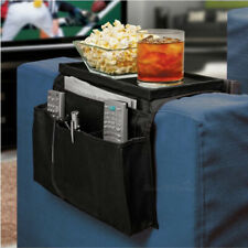 Sofa Chair Rest 6 Pocket Organiser Couch Remote Control Storage Tray Holder GF