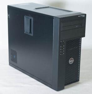 Dell Precision T1650 Xeon E3-1240 3.4GHZ/8 GB/ 640GB HD/ DVD RW M-TOWER