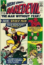 Daredevil #1 Facsimile Reprint Cover Only w/Orig Ads Key 1st App of Daredevil