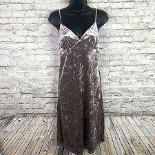 NEW Band Of Gypsies Crushed Velvet Dress Dusty Lavender Womens Small