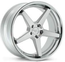 20x9/10.5 Ferrada FR3 5x114 +35/38 Silver Wheels Fits Mustang V6 V8 Gt Gs400 430