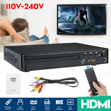 1080P HD LCD DVD Player Compact Multi Regions Stereo Video MP4 MP3 CD USB