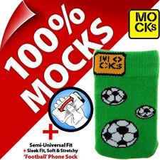 Mocks Fútbol Teléfono Móvil MP3 Sock Funda Estuche Funda para iPhone 4s 5sSE