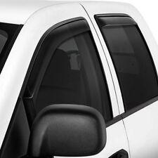 For Ford F-150 09-14 Westin In-Channel Smoke Front & Rear Window Deflectors