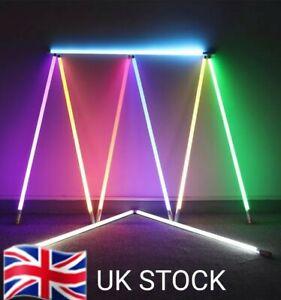 4ft Rechargable Video/Photography RGB LED Lighting Tube Twin Set