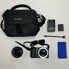 LOOK! Sony 24.3MP Mirrorless Camera Alpha α5100 (ILCE-5100L) with E 16-50mm Lens