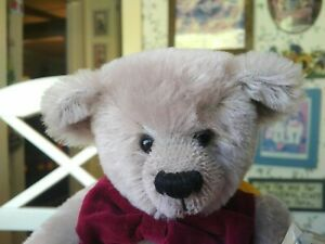 LImited Edition mohair Dean's Rag Book Teddy bear Earl Gray #54/1000 UK 12in EUC