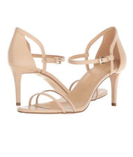 Michael Kors Simone Sandals Size 9 1/2 Color Beige.