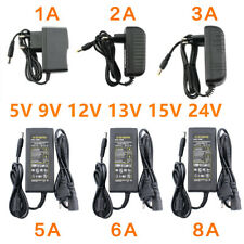 5V 6V 9V 10V 12V 15V 24V 36V 48V 1A 2A 3A 5A 6A 8A 10A Power Supply Adapter