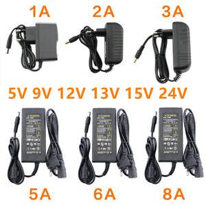 5V 6V 9V 10V 12V 15V 24V 36V 48V 1A 2A 3A 5A 6A 8A 10A Power Supply Adapter