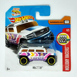 Hot Wheels Rockster Modellino Auto Automobile Holiday Racers 4/5 DIE-CAST