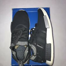 ADIDAS NMD R1 PK USED SIZE 12 JAPAN BOOST GREY WHITE PRIME KNIT S81849