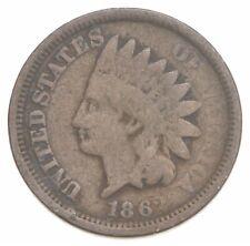 Civil War Era - 1862 Copper Nickel Indian Head Cent - Historic *198