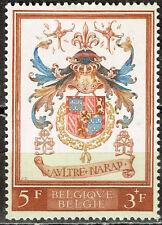 Belgium Royal Coat of Arms stamp  MLH CV $15