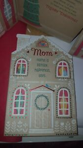 American Greetings  Christmas Card For Mom Mom home is family happiness love.