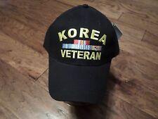 U.S MILITARY KOREA VETERAN HAT MILITARY BALL CAP KOREA WAR VETERAN