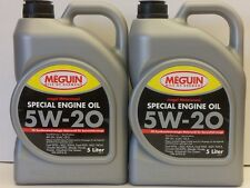 3,71€/l Meguin Megol Special Engine Oil SAE 5W-20 10 L Chrysler MS-6395 ILSAC