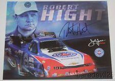 2015 Robert Hight signed AAA Chevy Camaro Funny Car NHRA postcard