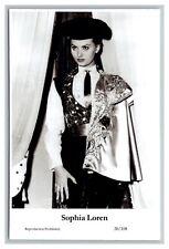 Sophia Loren (C) Swiftsure Postcard year 2000 modern print 20/108 glamour photo