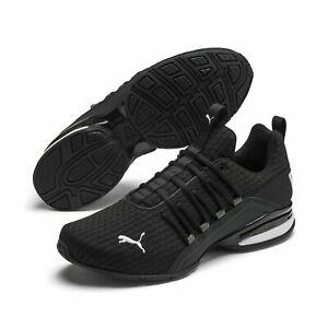AUTHENTIC Puma Axelion Black White Athletic Gym Running Shoe men size