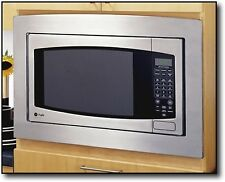 """GE - 27"""" Trim Kit for 2.1 Cu. Ft. Countertop Microwave Ovens JX2127SH NEW"""