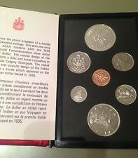 1975 Canada Double Dollar Proof Like Set