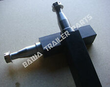 STUB AXLES 50MM SQUARE 12INCH LONG- SLIMLINE  MACHINING. TRAILER PARTS!
