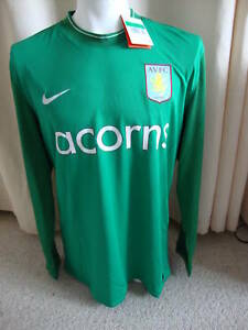 Aston Villa Nike 2009 - 2010 Player Issue Goalkeeper Shirt  (XL)*