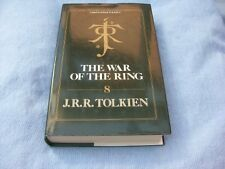 J.R.R. Tolkien The War Of The Ring Hb Book Rare