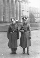 WWII German Large RPPC- Wehrmacht- Soldier- Formal Hat- Overcoat- Gloves- 1941