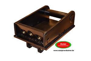 NEU MS03 Schnellwechsler Lastadapter mit Bolzen Haken Minibagger Haken Öse