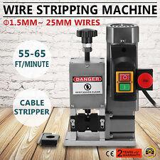 Powered Electric Wire Stripping Machine 1.5-25mm Stripper Copper Peeler HOT