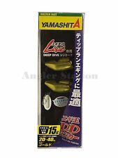 Yamashita EGI OH DD Sinker (Gold-15g) Deep Dive Sinker (2pcs)