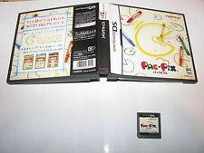 Pac-Pix Nintendo DS NDS Japan import no manual