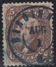 USA Scott #76 5ct Used XF centering CV $150