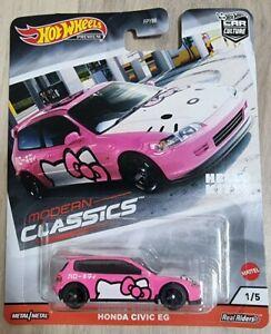 Hot Wheels - Hello Kitty Honda Civic (RARE)