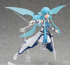 Anime Sword Art Online II SAO Asuna ALO Figma 264 Action Figure Toy Doll Model
