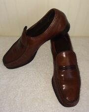 Florsheim Imperial Men's US 8.5 D Dress Shoes Loafers Brown Leather 335285